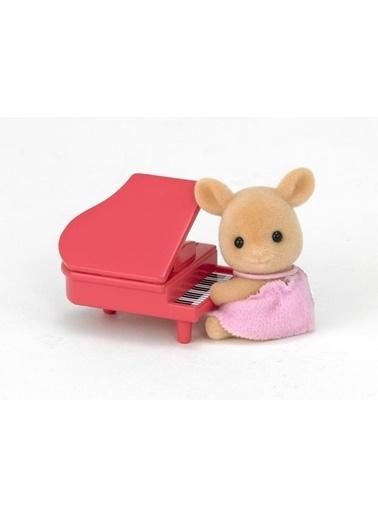 Sylvanian Sylvanian Families Deer Baby Piyano Renkli